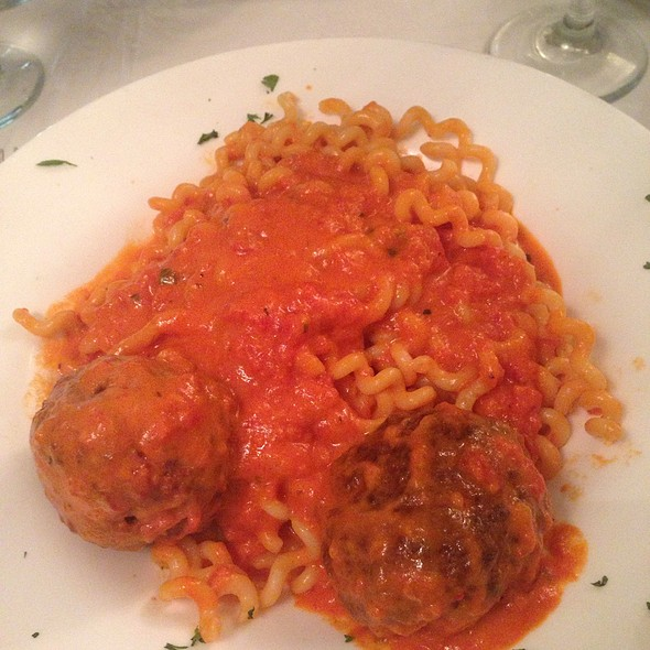Fussili With Meatballs