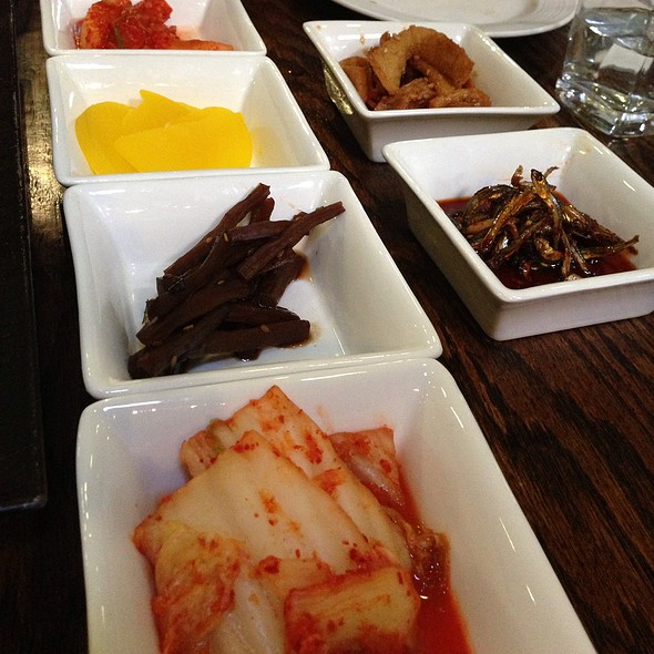 Banchan (Side Dishes) - Ssisso, San Francisco, CA