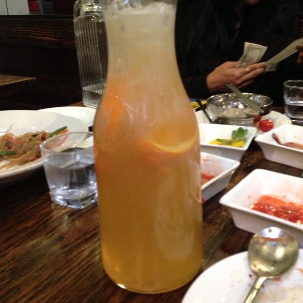 Orange Honey Soju - Ssisso, San Francisco, CA