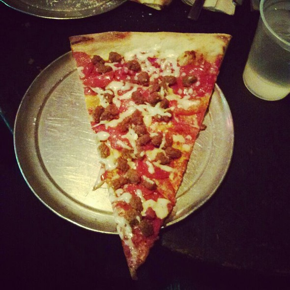 Pepperoni Pizza By The Slice @ Vinnie Van Go-Go's