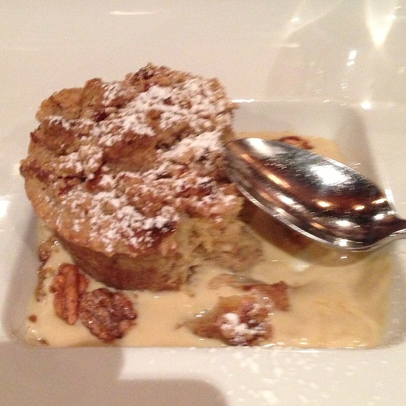 Banana Nut Bread Pudding In Brown Butter Sauce @ Canoe