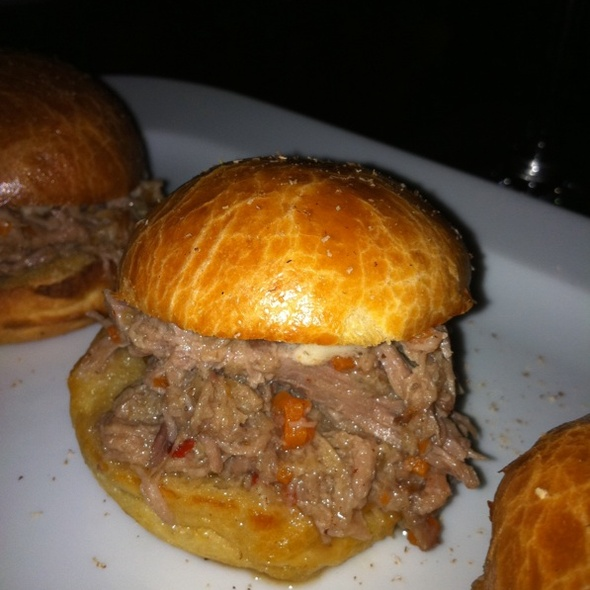 Pork Belly Sliders - Park Avenue Tavern, New York, NY