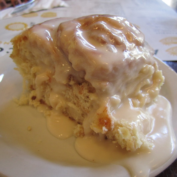 Homemade Cinnamon Roll @ Ann Sather's Restaurant