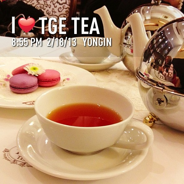 tea time :) @ TGE tea