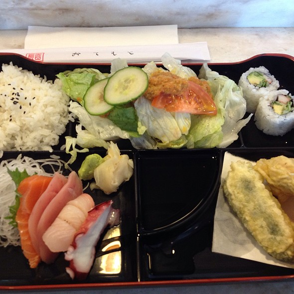 Sashimi Lunch Bento Box