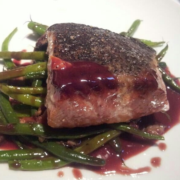 Roast Salmon With Green Beans - Parkway Grill, Pasadena, CA