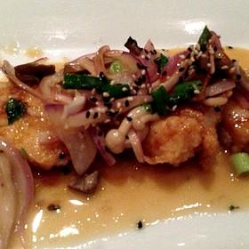 Garlic Seared Calamari