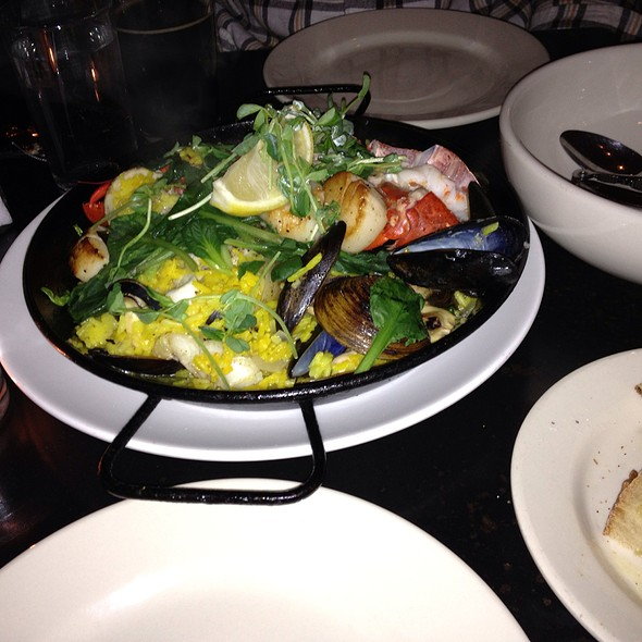 Seafood Paella - Local 188, Portland, ME