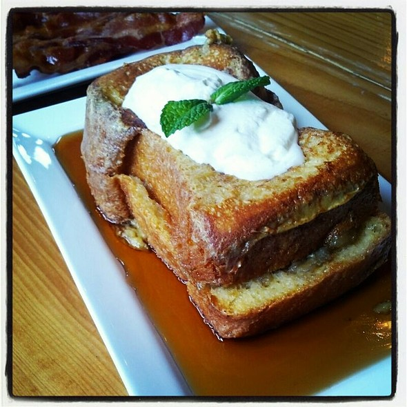 Stuffed French Toast - Hickory Lane American Bistro, Philadelphia, PA