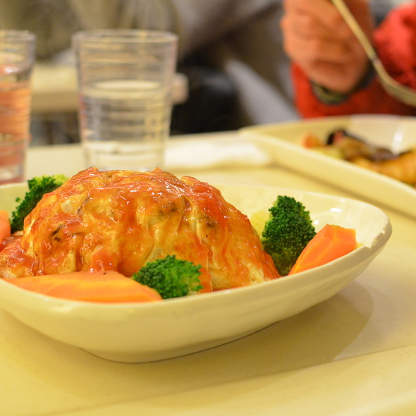 Omelette @ Fruit Stop Health Food Restaurant - Causeway Bay
