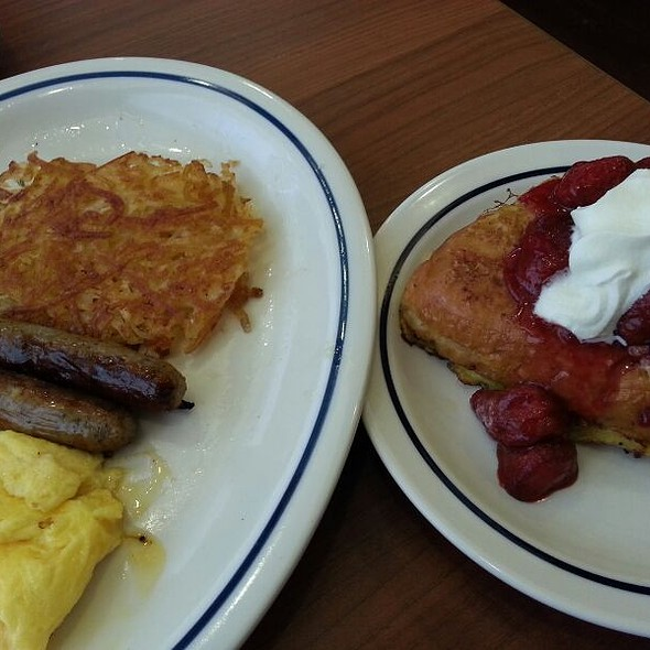 Stuffed French Toast Combo