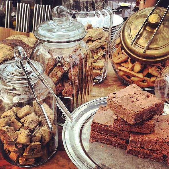 A corner from the dessert table @ Bacyard @ Backyard