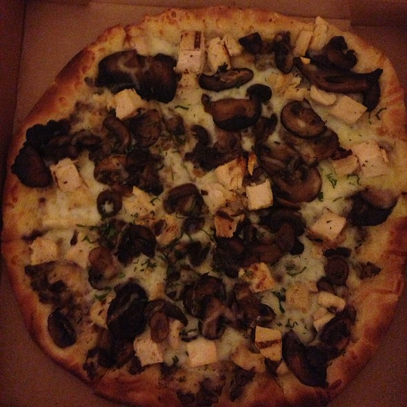Mushrooms Pizza @ California Pizza Kitchen