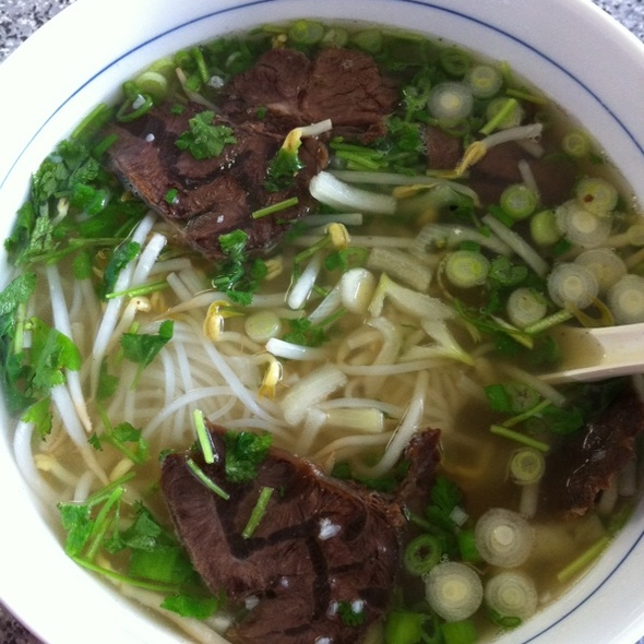 Beef Rice Noodles @ Palm Noodle Bar