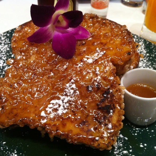 Crispy French Toast @ Norma's at Le Parker Meridien Hotel