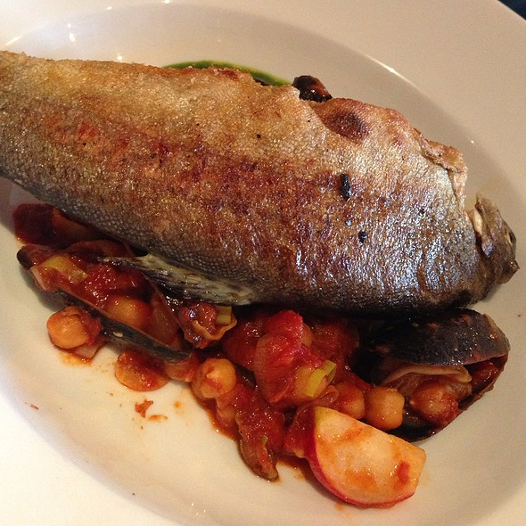 Rainbow Trout W Mussels - Bellanico Restaurant and Wine Bar, Oakland, CA
