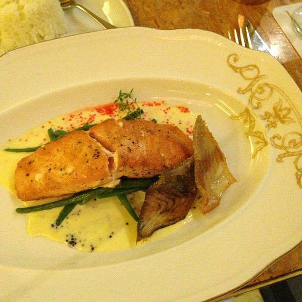 Pan Seared Salmon  @ Lusso