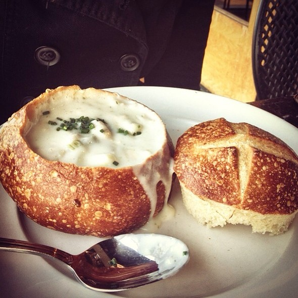 Clam Chowder Bread Bowl @ Boudin Sourdough Bakery & Cafe: Stonestown