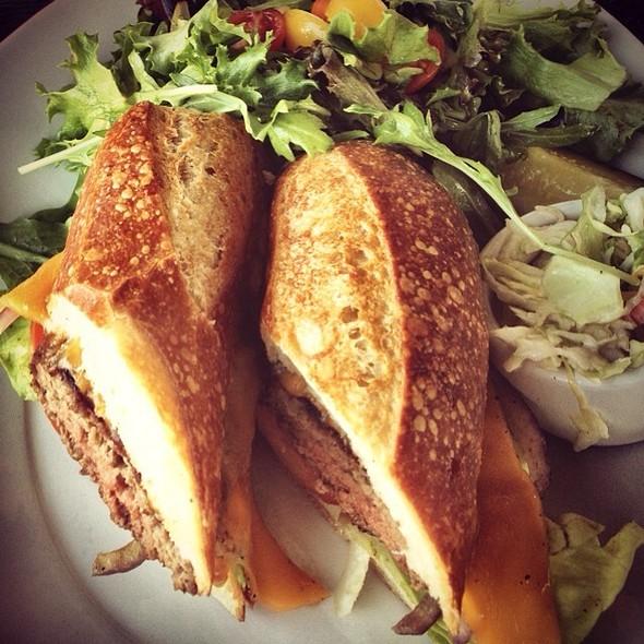 Sourdough Burger @ Boudin Sourdough Bakery & Cafe: Stonestown