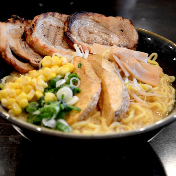Chashu Ramen with Kome Miso Broth @ Ramen Misoya