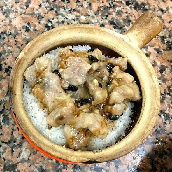 Clay Pot Rice With Pork Ribs @ 永合成餐廳餅店 Wing Hap Shing Restaurant