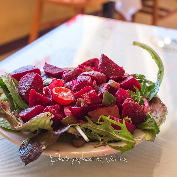 Beet Salad - Pearl of the Ocean, Santa Cruz, CA