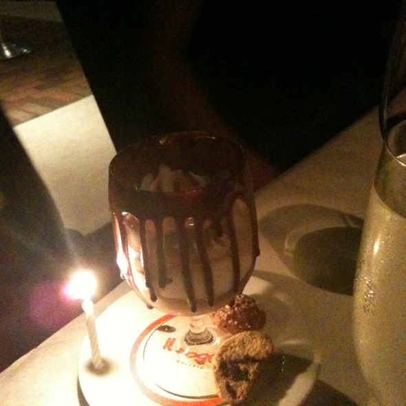Happy Birthday Dessert @ Il Sogno Osteria