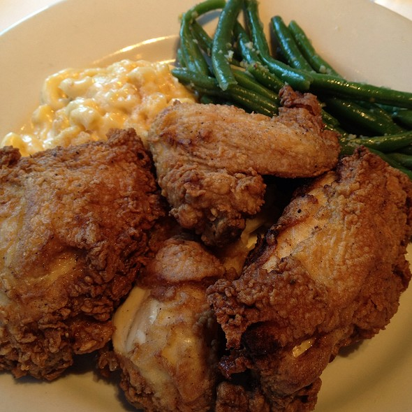 Pan Fried Chicken - Horseradish Grill - Buckhead, Atlanta, GA