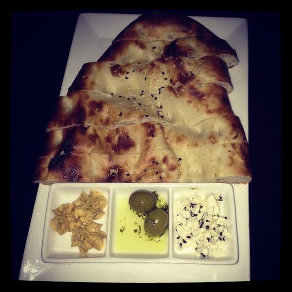 Homemade Grilled Turkish Bread - Tuba Restaurant, San Francisco, CA