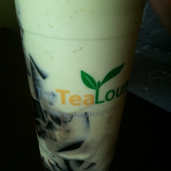 Green Milk Bubble Tea @ THE TEA LOUNGE