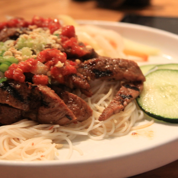 bbq pork with vermicelli @ Republic Restaurant