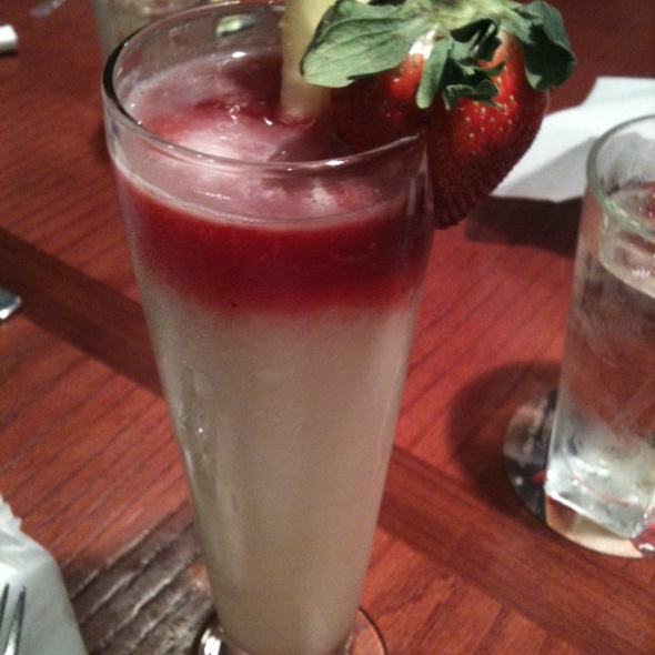 Strawberry Pina Colada @ Red Lobster