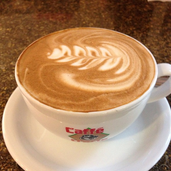 Breve Latte @ Global Peace Factory Coffee Shop