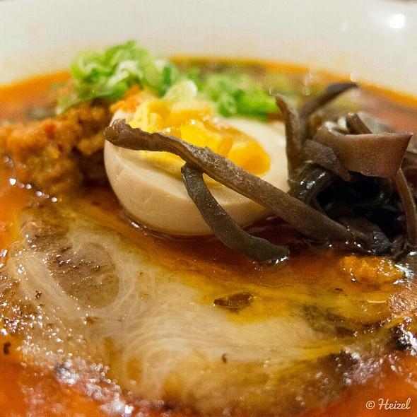 Red - Spicy Ramen @ Izakaya Roku