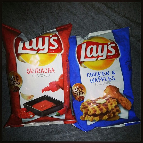 "Lays ""Vote To Save Your Fave"" Chips"