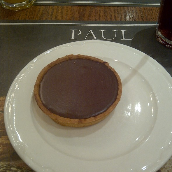 Chocolate Tart @ Paul at Dubai Mall