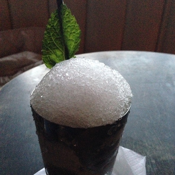 Mint Julep @ Bar Tonique