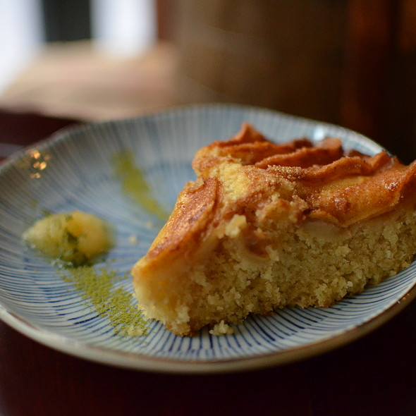 Vegan Apple Cake @ Sinmei Teahouse