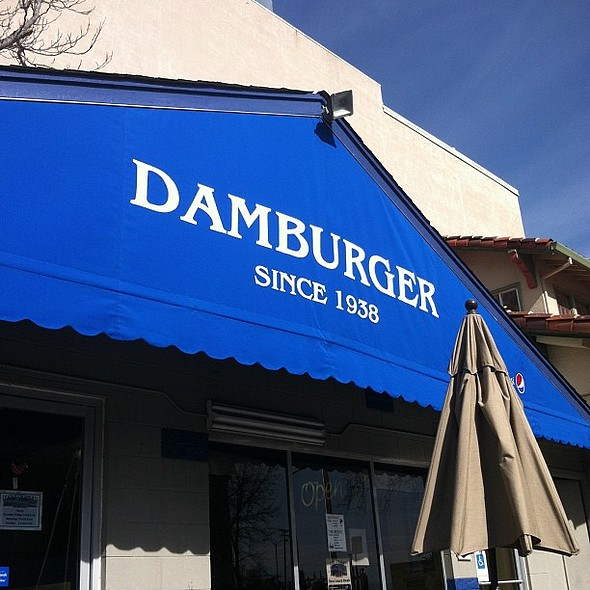 The best dambuger evar. @ Damburger