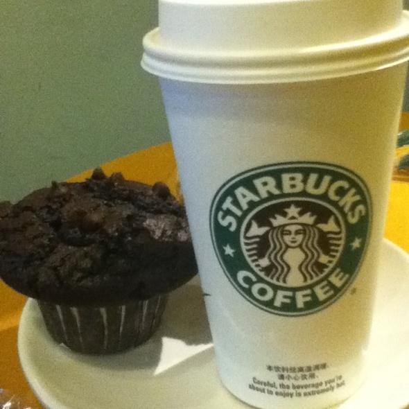 Chocolate Muffin at STARBUCKS COFFEE in Shanghai, Shanghai