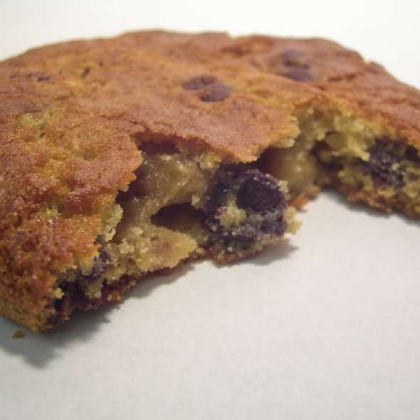 chocolate chip walnut cookie @ Hot Cookie