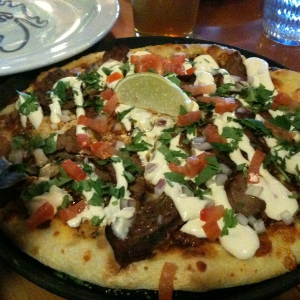 Chipotle Steak Pizza