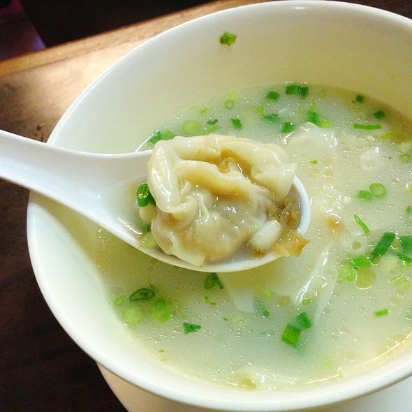 Wonton Soup @ 江仔記粉麵專家