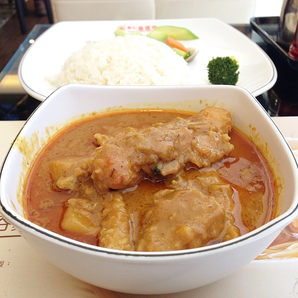 Chicken Curry @ Maxim's Hong Kong Day 美心香港地