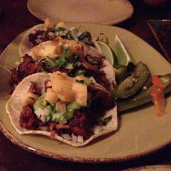Tacos Al Pastor Puerco