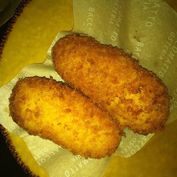 Salt Cod Croquettes @ Bacco Matto Osteria