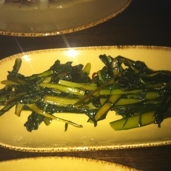 Wilted Greens @ Bacco Matto Osteria