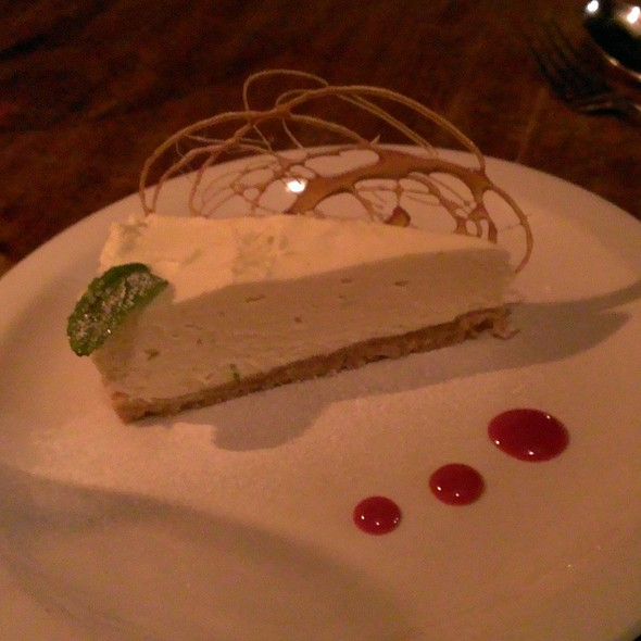 Lemon & Lime Cheesecake @ Pipe of Port