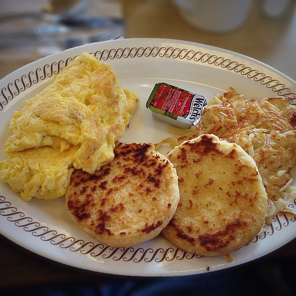 Cheese Omelette @ Waffle House