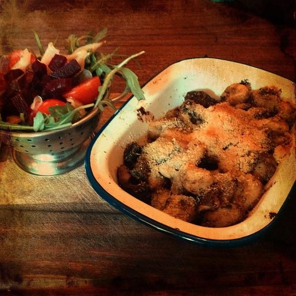 Wild Mushroom Basil Pesto And Gnocchi @ The Lord Nelson